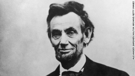 Abraham Lincoln (1809-1865), the 16th President of the United States of America.