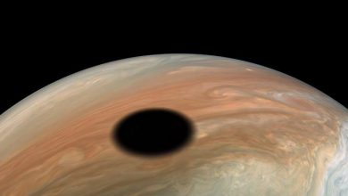 Photo of Watch a 360-degree view of Jupiter during an Io eclipse
