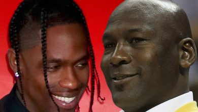 Photo of Michael Jordan gave Travis Scott a boon to film vid music at an Illinois mansion