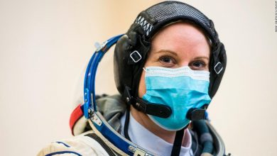 Photo of NASA astronaut Kate Robins will vote from space
