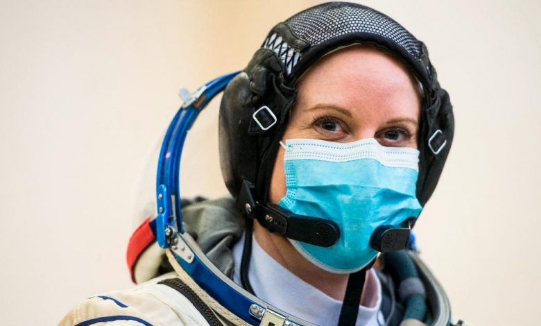 NASA astronaut Kate Robins will vote from space