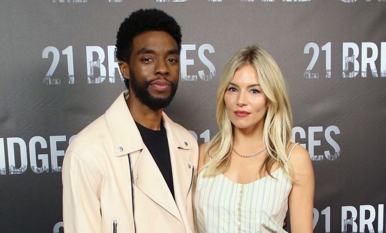 Chadwick Bosman cut wages to raise Sienna Miller's salary