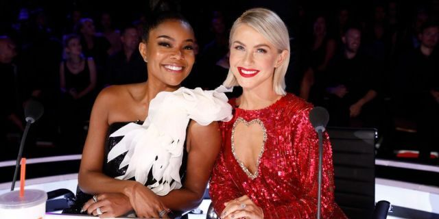 Gabrielle Union and Julianne Hugh served as judges together on America's Got Talent.  They both left the show at the same time.  (Photo: Trae Patton / NBC)