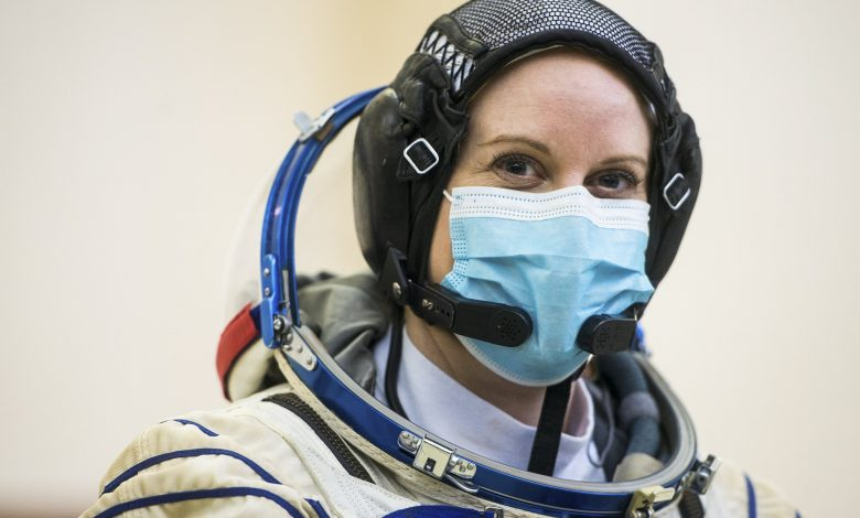 A NASA astronaut plans to cast her ballot from the space station
