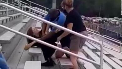 Photo of An Ohio woman was abused after she refused to leave at a middle school soccer match for not wearing a mask.