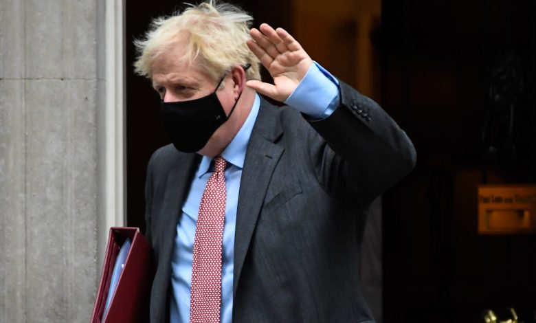 British Prime Minister Boris Johnson urges the British to follow the rules to avoid lockdown