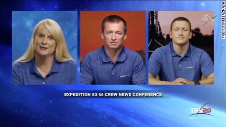 A new crew will be launched to the International Space Station in October