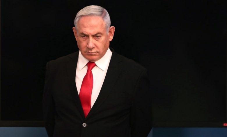 """Netanyahu urges the Beirut neighborhood to """"act now"""" about an alleged Hezbollah weapons depot"""