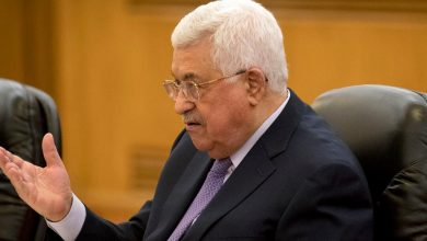 Photo of Palestinian President Abbas criticizes the US deals.  The UAE says it expects an initial negative reaction