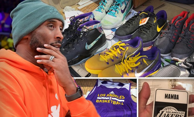 Bringing back Kobe Bryant's storage locker treasures to Vanessa, 'it all worked out'