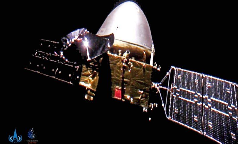 Chinese Mars probe bring back selfie from deep space - Spaceflight Now