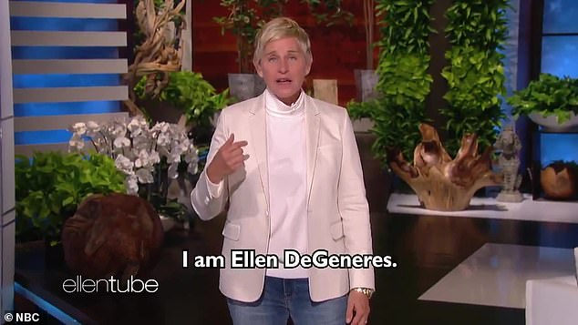 More: Neilsen Media Research, the company that measures audience size, reported that for Ellen's September 21 premiere on September 21, the show averaged 1.2+ home ratings on the same day - a 29% drop from its premiere. For the year 2019