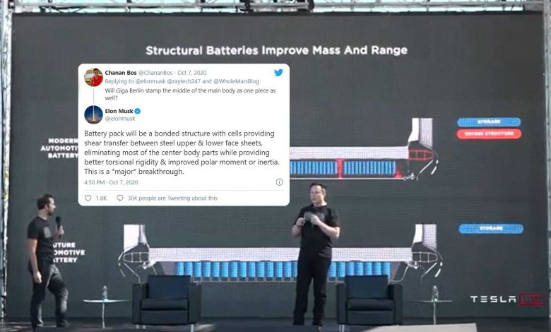 Elon Musk explains the repair concerns associated with the new body structure