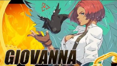 Photo of Giovanna revealed she is Guilty Gear Strive's newest character, Mito Angie jokingly