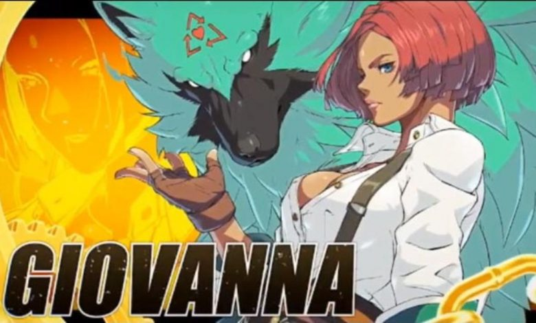 Giovanna revealed she is Guilty Gear Strive's newest character, Mito Angie jokingly