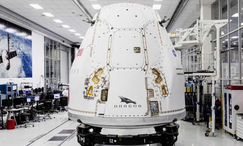 SpaceX's ships upgraded the spacecraft to ship to Florida for its first dragon-shaped orbital encounter