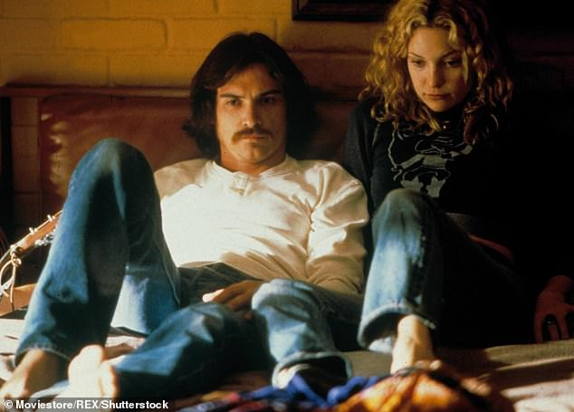 Meanwhile, Kate followed up with one good kisser on screen: Billy Crudup was in Almost Famous