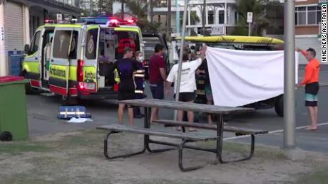 An Australian surfer dies after a shark attack on the famous Gold Coast beach