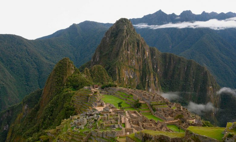 After waiting for 7 months, this tourist got his Machu Picchu himself