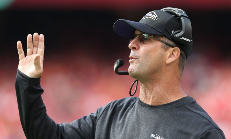 Baltimore Ravens coach John Harbo has not heard of the NFL about the unconvincing controversy