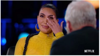 "Photo of David Letterman makes Kim Kardashian cry in ""My Next Guest"""