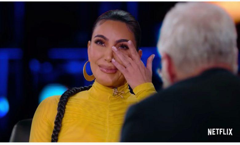 "David Letterman makes Kim Kardashian cry in ""My Next Guest"""