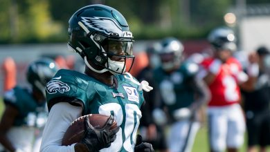 Photo of Eagles activate Quez Watkins and Craig James from IR and do other moves on the list