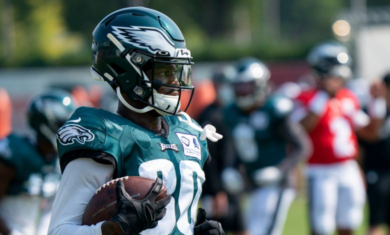 Eagles activate Quez Watkins and Craig James from IR and do other moves on the list