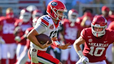 Photo of Georgia QB Stetson Bennett, favorites to start against Auburn