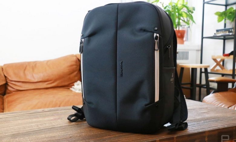 Google and Samsonite Smart Backpack is the best use of Jacquard