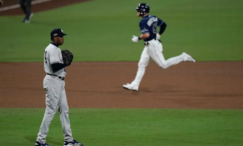 Late Homer ends the Yankees 'season in crushing ALDS' loss to Ray