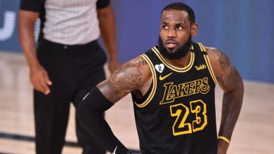 "Photo of LeBron James from Los Angeles Lakers on Miss Danny Greene – ""It Never Goes"""