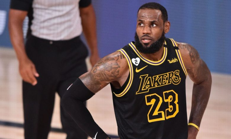 """LeBron James from Los Angeles Lakers on Miss Danny Greene - """"It Never Goes"""""""