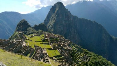 Photo of Machu Picchu opened to one tourist who waited seven months to see it