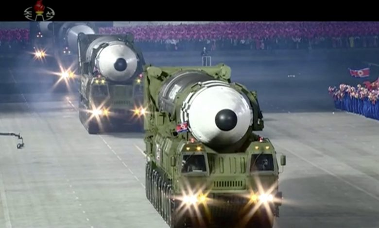 SKorea is concerned about the missile that has appeared at the North Korean military parade