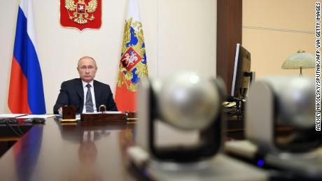 Russian President Vladimir Putin announced the vaccine in a phone call with government officials.