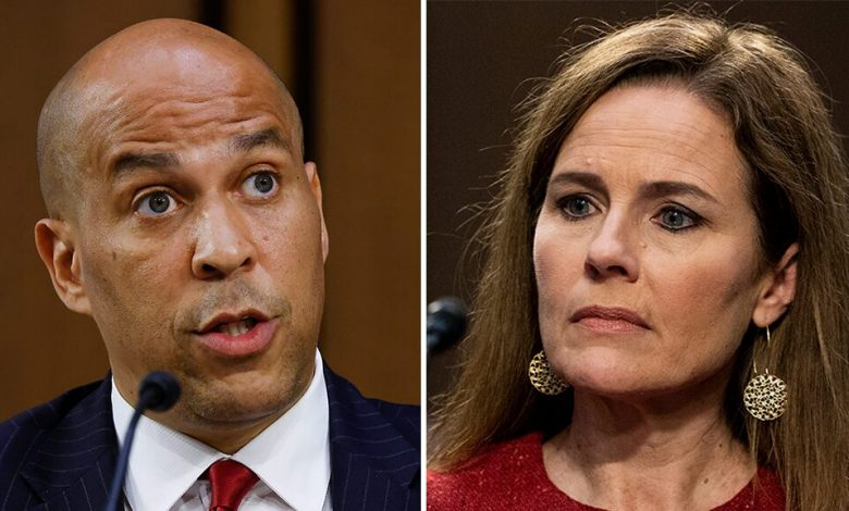 "Twitter accuses Cory Booker of ""profligacy"" of Amy Connie Barrett in a confirmation hearing"