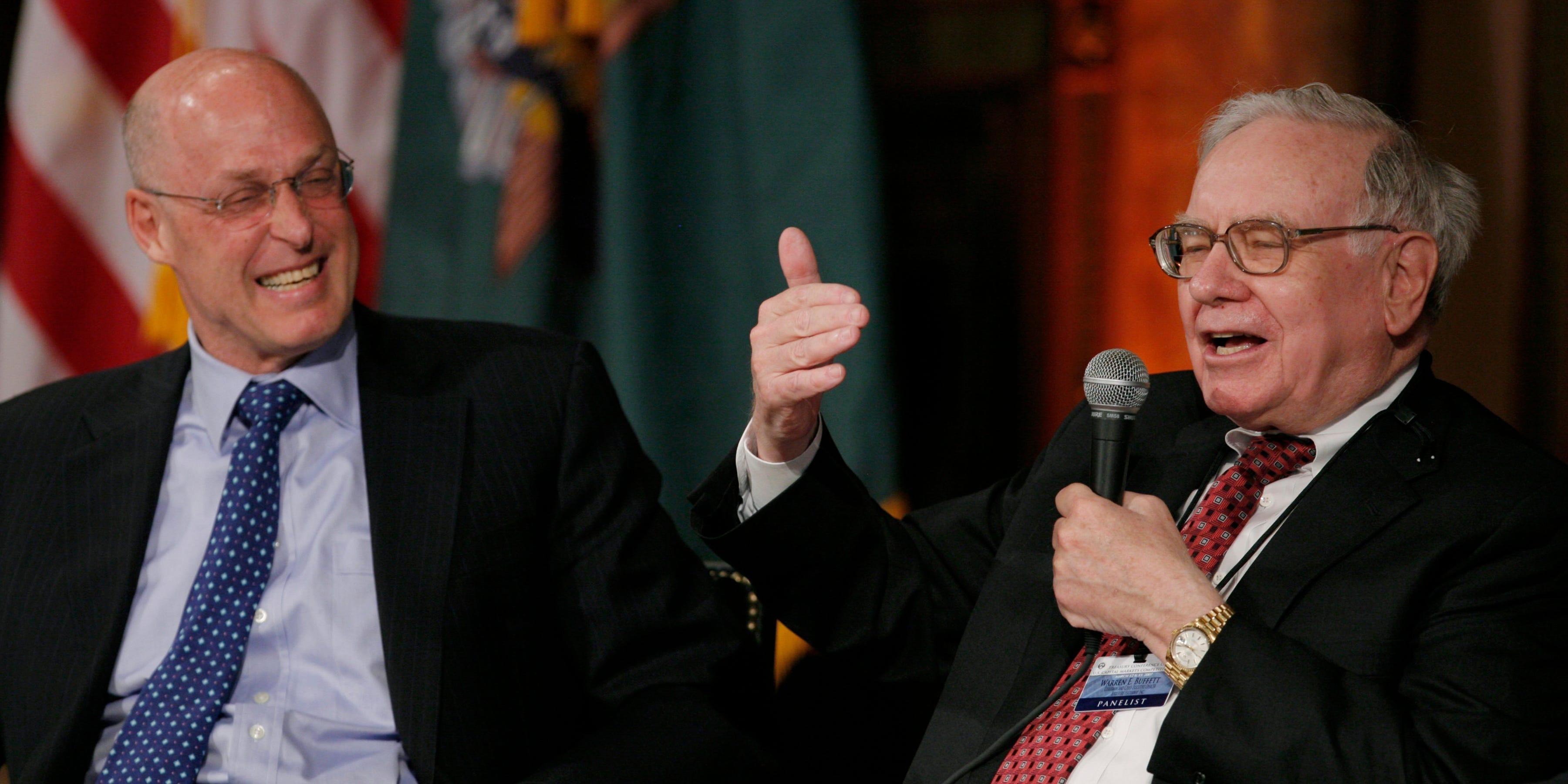 Warren Buffett by Hank Paulson