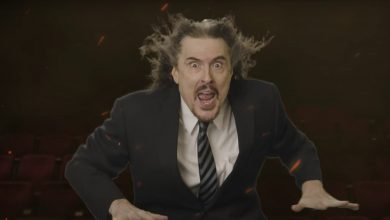 Photo of 'Weird Al' Yankovic Moderates Debit in 'We All Doomed' video