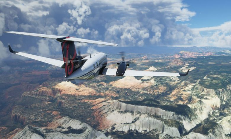 You can now register for the Microsoft Flight Simulator test in VR