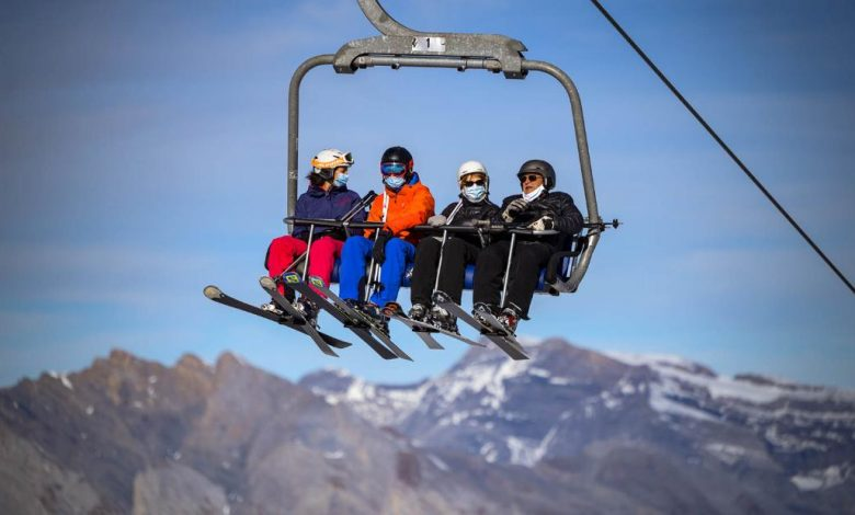 Covid ended the alpine skiing season - with one exception