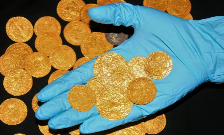 Gold coins, medieval treasures unearthed in the yards of British homes during lockdown
