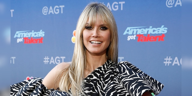 Heidi Klum said her daughter Lenny had to wait until she was 16 years old to enter the modeling world.  (Getty Images)