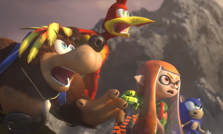 Banjo-Kazooie's creator shares his thoughts on seeing the duo interact with Sephiroth's arrival at Smash Bros.  Ultimate