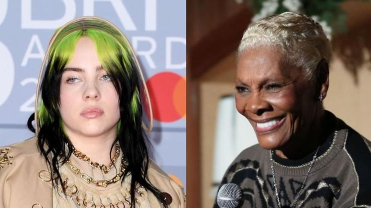 """Billie Eilish calls it """"William Eyelash"""" by Dionne Warwick and Twitter just can't handle it"""