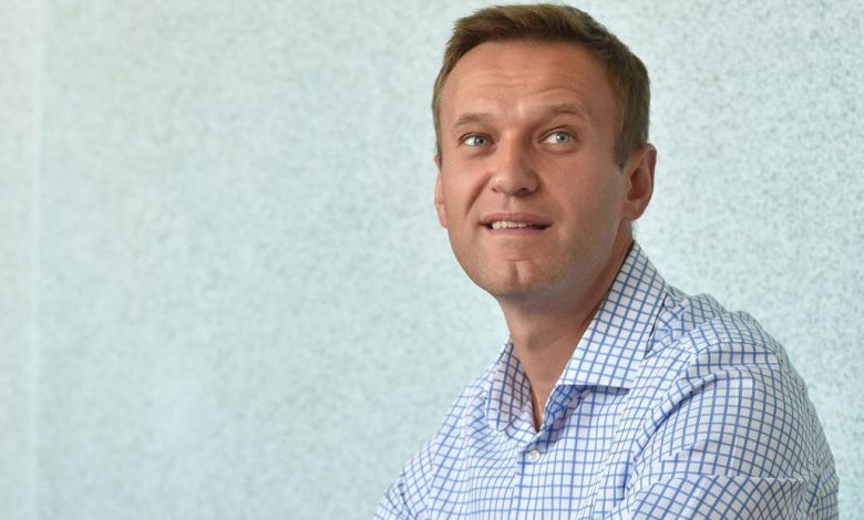 "Russia's Navalny says he is ""sure"" that Putin ordered agents to go after him before he was poisoned"