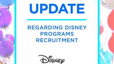 Photo of The Disney College Program releases an employment update at Walt Disney World and Disneyland Resort