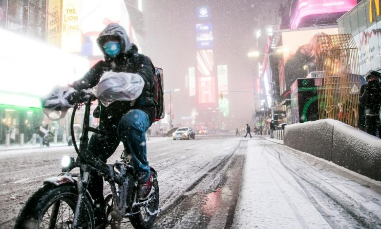 The winter blizzard brought more snow in parts of the northeast than all of the winter season last year