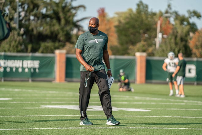 Training hours of Mel Tucker, Michigan state coach, is Monday, September 21, 2020.
