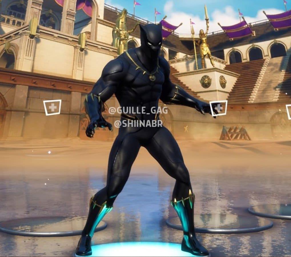 Fortnite Leaked Black Panther Skin
